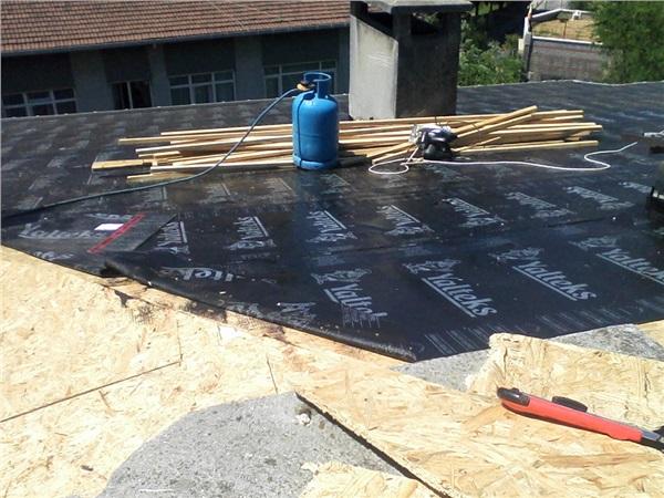 Çatı Yalıtım İşlemleri